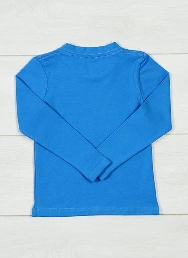 Grip Tişört Mavi